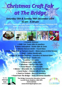bridge community centre christmas fayre 2014