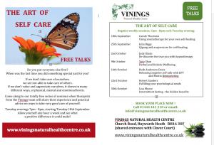 Vinings Art of Self Care 2018